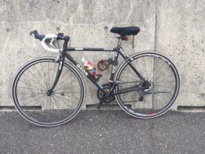 愛車紹介。GIOSのIRONE(アイローネ)というロードバイクです。