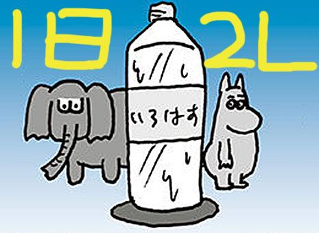ダイエット 水 2 リットル